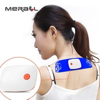 Smart Electric Wireless Massager Abs Muscle Stimulator Portable Waist Cervical Massage Digital Meridian Therapy Instrument