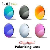 Chashma 1 61 Index Polarized Customized Prescription Myopia Sunglasses Lens Optical Eyewear Degree Sun Glasses Lenses