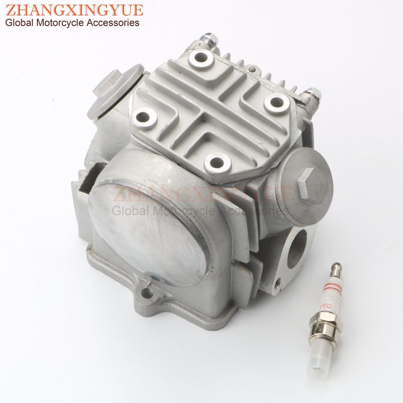 Motorcycle 39mm Cylinder Head & Valve Rocker & Cam & Cover & A7TC Spark Plug For HONDA Z50 Z50R XR50 CRF50 50cc 4 Stroke