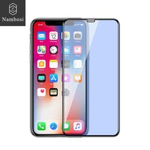 Hot bending screen protector for iPhone x xs xr xs max tempered glass protective iPhone xs x xr xs max Glass & Nambosi 3D A+ 9H