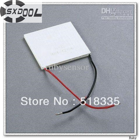 SXDOOL peltier element cooling!TEC1-12726 Thermoelectric Cooler Peltier Plate Manufacturer Warranty peltier generator 2pcs 40 40mm thermoelectric power generator high temperature generation element peltier module teg high temperature 150 degree