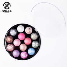 Angel cosmetic  New fashion 14 color maquiagem professional cosmetic matte eyeshadow palette naked makeup eye shadow