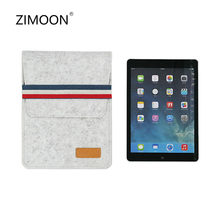 Tablet Sleeve Bag for iPad 2/3/4 Air 1/2 10 Felt Bag for iPad Pro 9.7 inch Cover for Pad 9.7 inch 2017/2018 Case for iPad Mini(China)