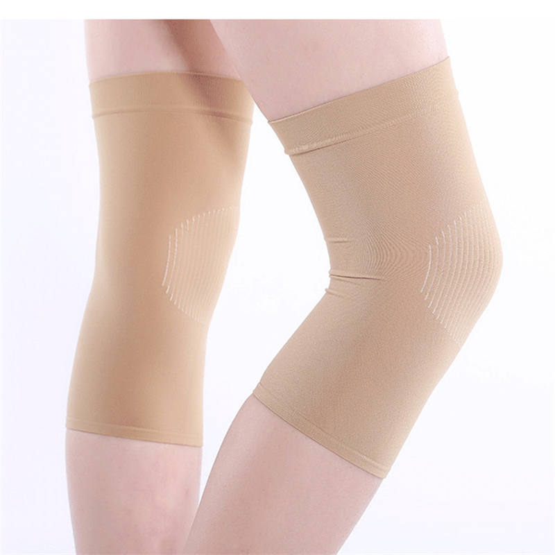 Warm Kneepad Unisex Spandex Seamless Comfortable Kneecap Simple Solid Breathable Running Cycling Adult Kneepad Fitness