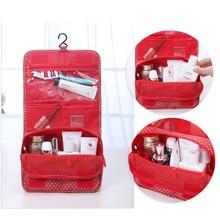 Brand Hanging Cosmetic Bag Beauty Makeup Bag Women Travel Portable Cosmetics Organizer Men Bath Waterproof Washbag