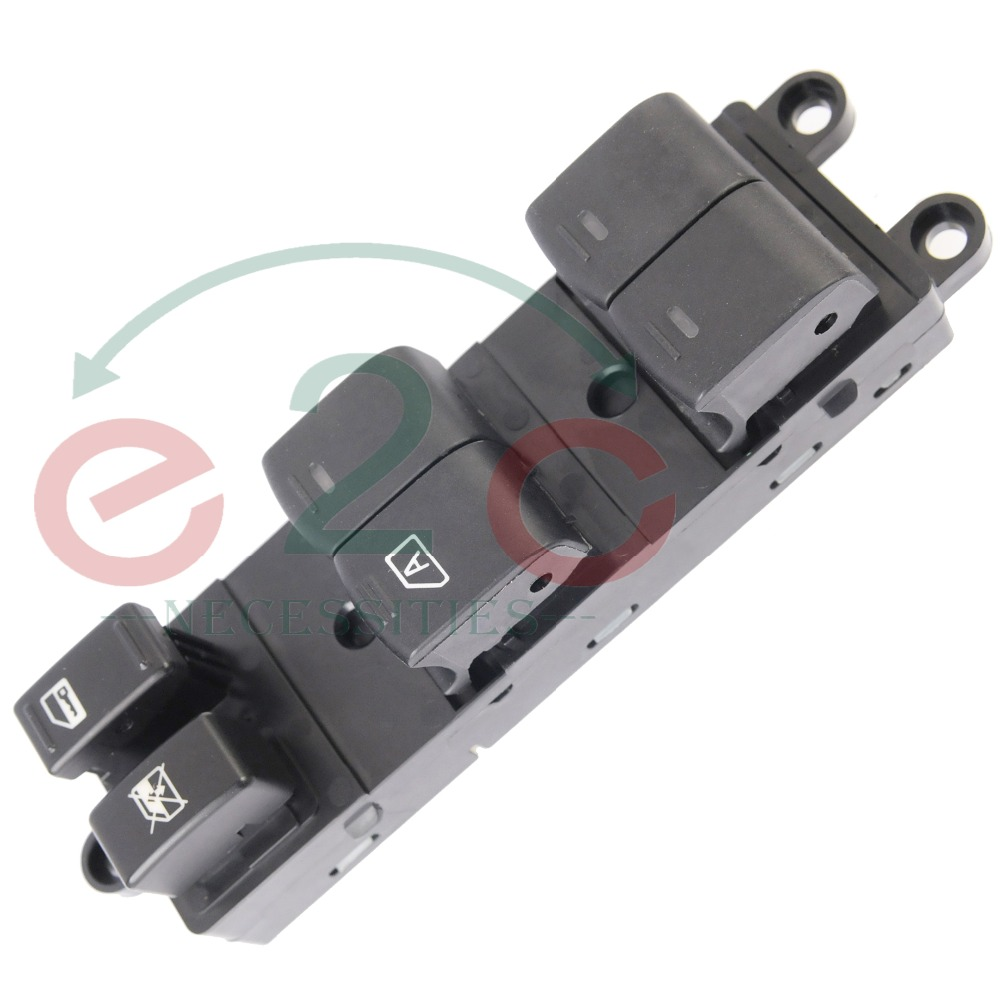 E2c electric power window master switch for 2005 2008 nissan pathfinder front oe 25401 zp40b 25401zp40b in car switches relays from automobiles