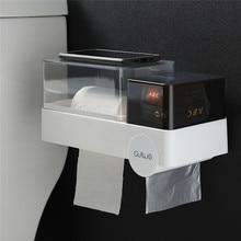 Водонепроницаемый беспробиваемый держатель для туалетной бумаги подставка для ванной Санузел многофункциональная бумага в рулонах держатель для бумажных полотенец XNC