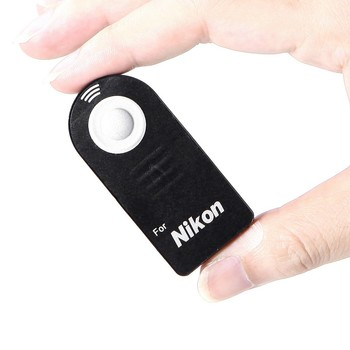 Remote Shutter Release Infrared Wireless Selfie Button with CR2025 battery for DSLR Camera Canon RC-6 Nikon ML-L3 Sony 2s