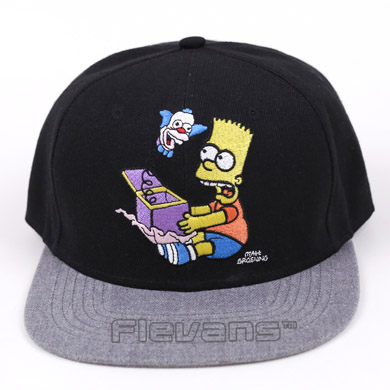 2017 New Summer Bart Simpson Adjustable Baseball Cap Snapback Hip-Hop Hats Sun Hat 360 degree 170 wide angle lens sh5hd drones with camera hd quadcopter rc drone wifi fpv helicopter hover flip live video photo