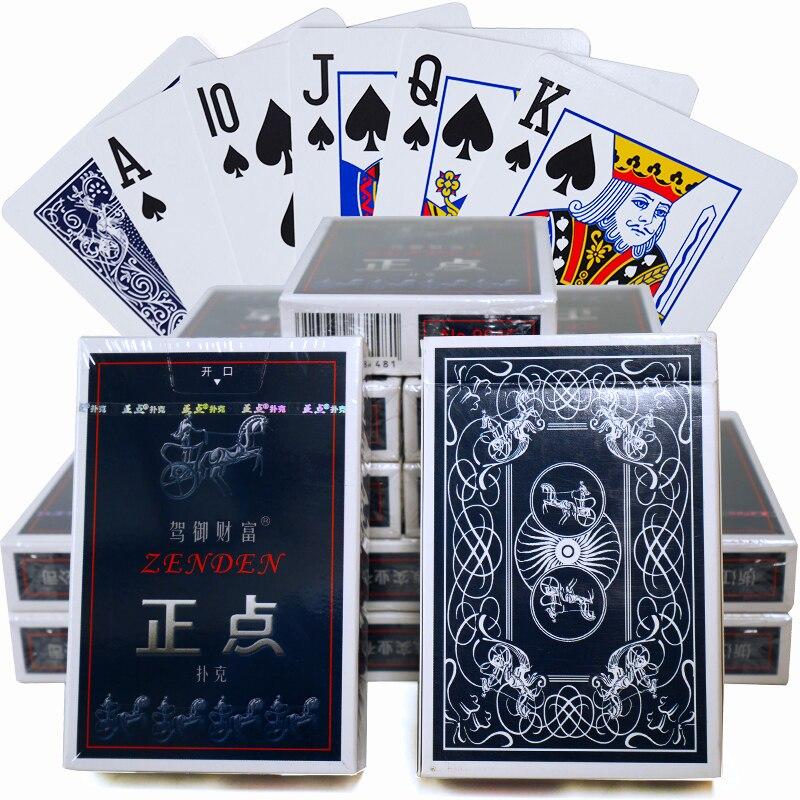 10 Ensembles Cartes À Jouer Les Propriétaires Papier Poker