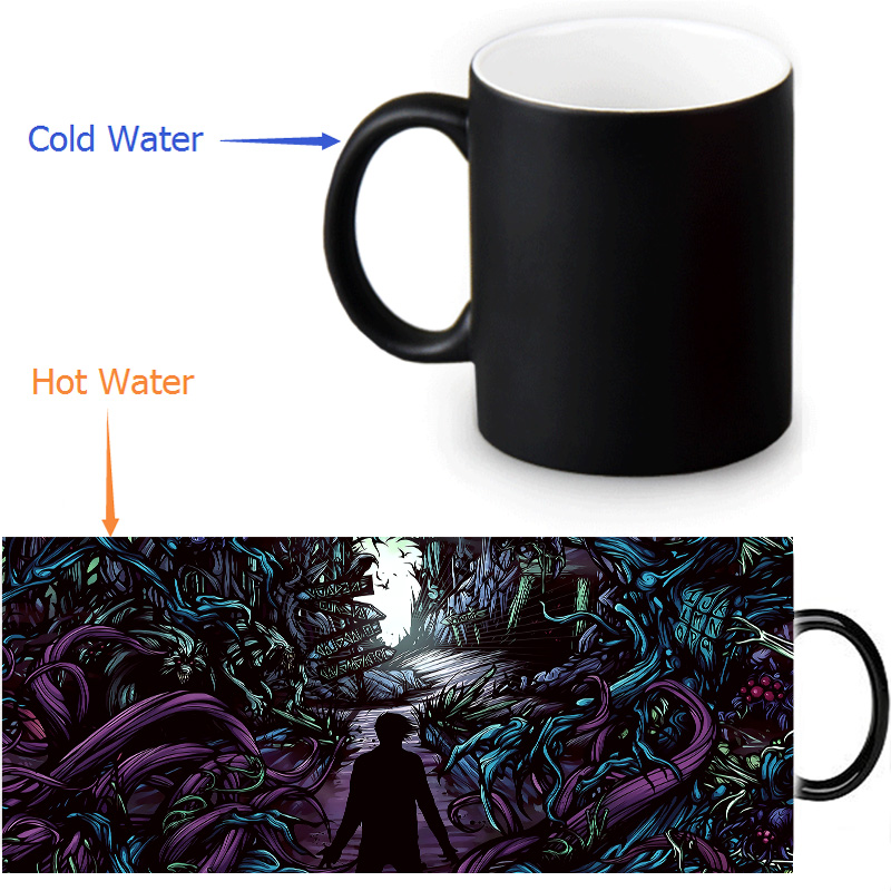 A Day To Remember Mugs Heat Changing Color Tea Mug