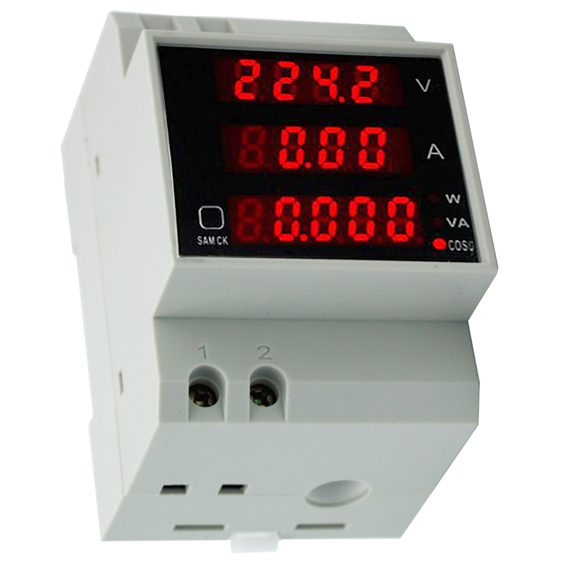 купить D52-2048 AC 80-300V 100A LCD Digital Multi-Functional Meter Voltmeter Ammeter voltage current tester power test tool 40% off по цене 852.58 рублей