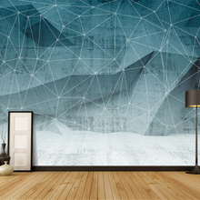 Wall-Murals Geometric-Art Beibehang Abstract Living-Room for Hotel Kid's