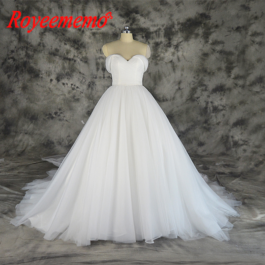 2019 Elegant Simple Wedding Dress With Tulle Cape Wedding