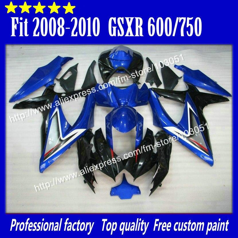 high grade for 2008 SUZUKI GSXR 600 fairings 2009 2010 GSXR 750 fairing K8 08 09