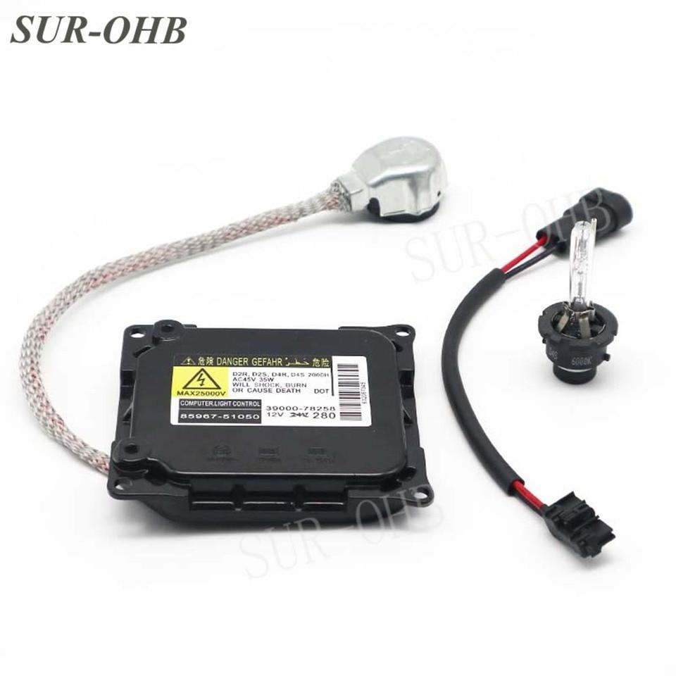 D4S D4R HID Xenon Lamp Ballast for Lexus ES GS IS Toyota OEM Denso Koito DDLT003