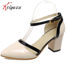 Free shipping low price pointed toe women pumps fashion sexy spool heels high heels ladies shoes PU elegant wedding shoes