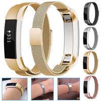Para Fitbit Alta HR reemplazo reloj inteligente Correa pulsera correa de muñeca accesorios correa de reloj de acero inoxidable