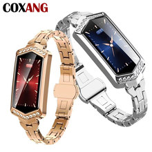 COXANG B78 Smart Watch For Women Fashion Health Fitness bracelet Heart Rate Monitor Blood Pressure Smartwatches Android IOS