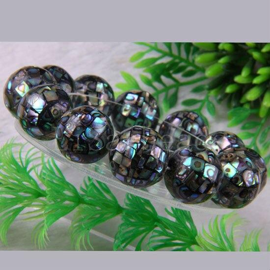Free Shipping Fashion Jewelry Natural New Zealand Abalone Shell Bracelet 8