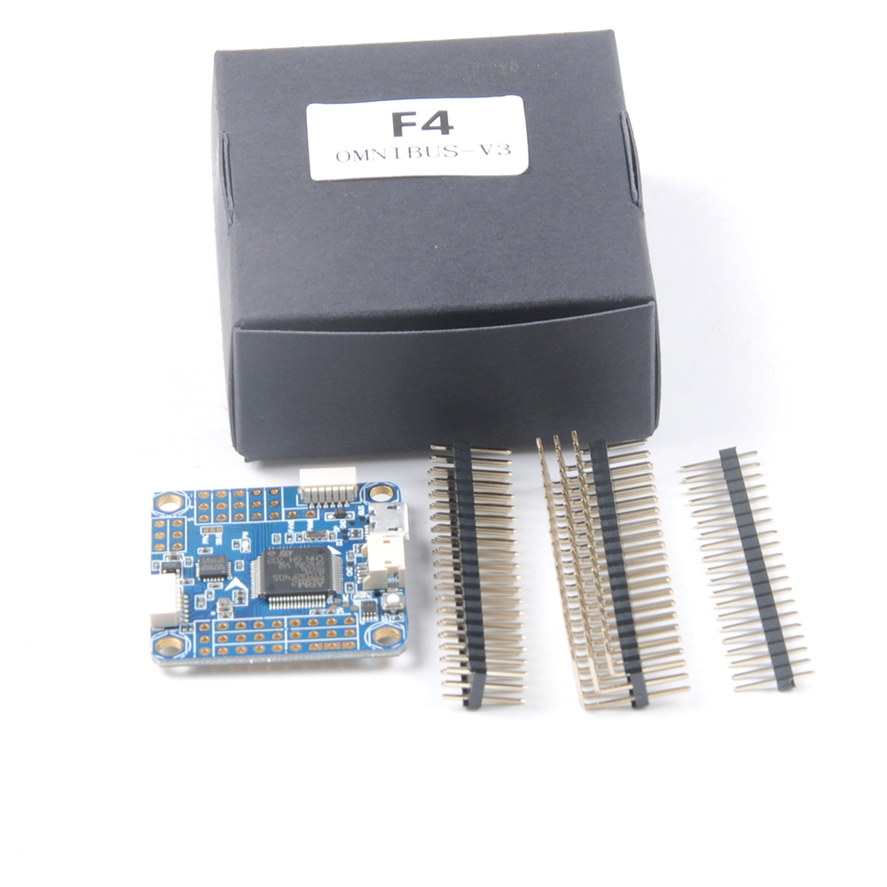 OMNIBUS F4 V3 Flight Controller with 5V BEC Betaflight OSD Current Sensor MicroSD  for FPV Racing Drone Quadcopter Multirotor matek f405 with osd betaflight stm32f405 flight control board osd for fpv racing drone quadcopter