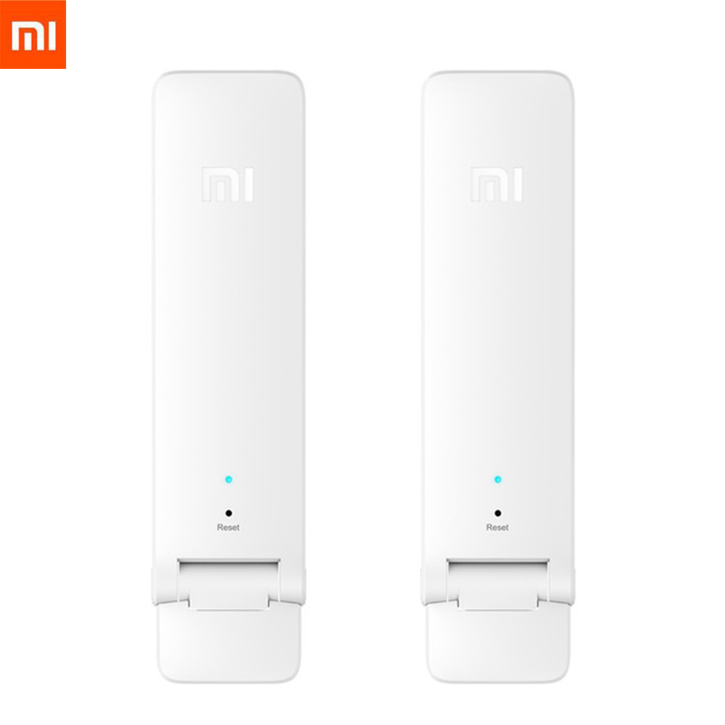 Wholesale New Version Xiaomi WIFI Repeater 2 Amplifier Extender 300Mbps Amplificador Wireless WiFi Router Expander For Mi Router