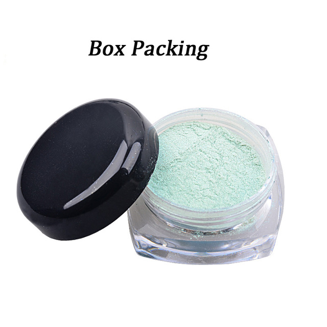 2g/box Shinning Mirror Nail Glitter Powder 12 Colors