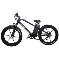 26 pollici di Grasso e bike batteria al litio bicicletta elettrica mountian bike 4.0 pneumatici da neve 48V500W spiaggia MTB 3.5 LCD meter Off road-in Bicicletta elettrica da Sport e intrattenimento su