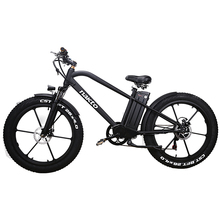 26 дюймов Fat e-bike 48V500W зимний электровелосипед литиевая батарея гоночный велосипед 4,0 Шины Пляж MTB 3,5 ЖК-метр внедорожный