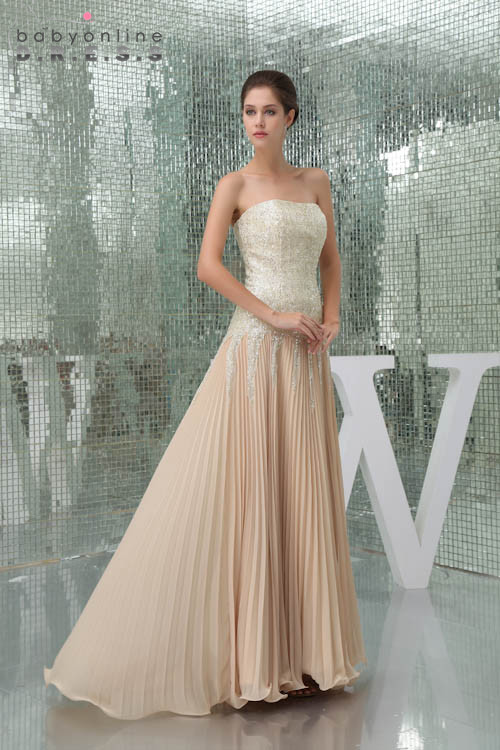 Цвет на заказ 2018 золото блестками длинный полный шнурок невесты Ruched платья шифон нарядные платья для свадьбы Пром платье Vestidos