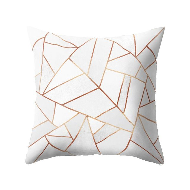 Nordic Style Geometric Cushion Cover Polyester Pillow Case Black And White Home Decorative Pillows Cover For Sofa Car
