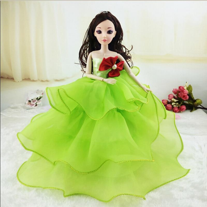 3D-simulering øye mote bryllup forvirret dukke opp pakking barnedag - Dukker og tilbehør - Bilde 3