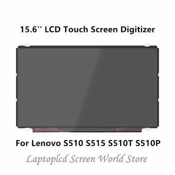 FTDLCD 15.6'' Replace Laptop Display LCD Touch Screen Digitizer For Lenovo S510 S515 S510T S510P  1366x768