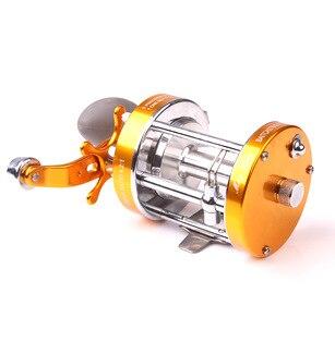 full metal fishing wheel cast drum reel right sea rod reel Lure rod reel model 20-90 drag power 2-30kg