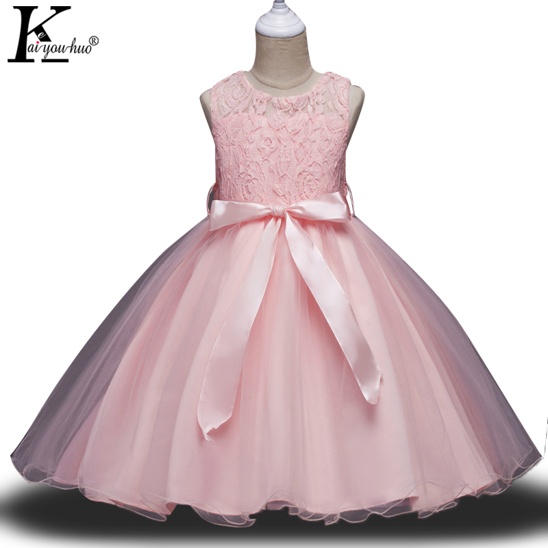 New Tutu Kids Dresses For Girls Clothes Princess Christmas Dress Party Wedding Dress Children Clothing Vestido 3 4 5 6 7 8 Years цена и фото