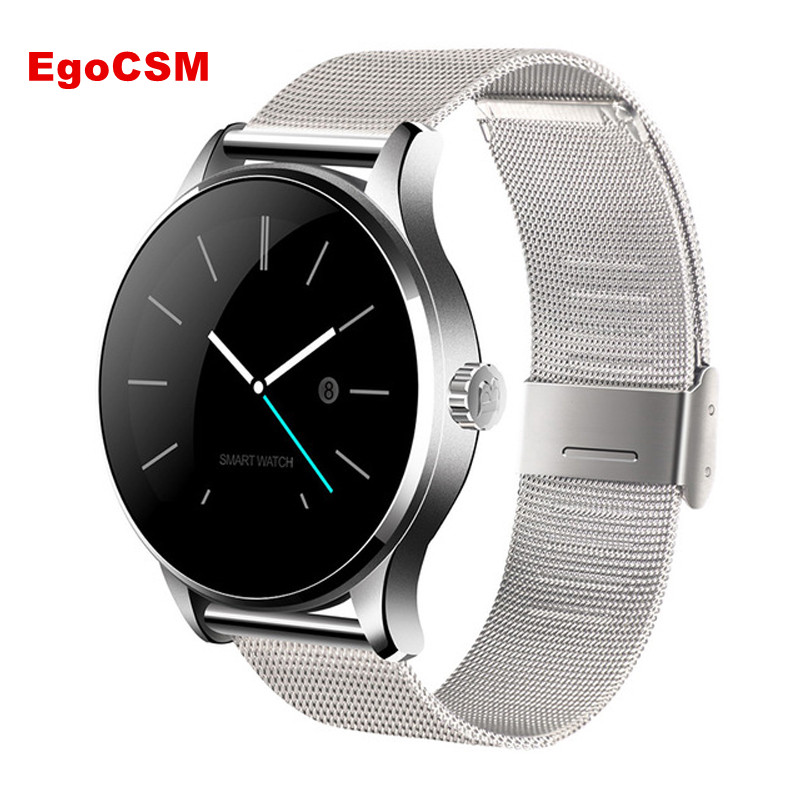 2017 EgoCSM K88H Bluetooth Smart Watch MTK2502 Heart Rate Monitor Sync Phone Call Message Men Women Wrist Smartwatch wireless service call bell system popular in restaurant ce passed 433 92mhz full equipment watch pager 1 watch 7 call button