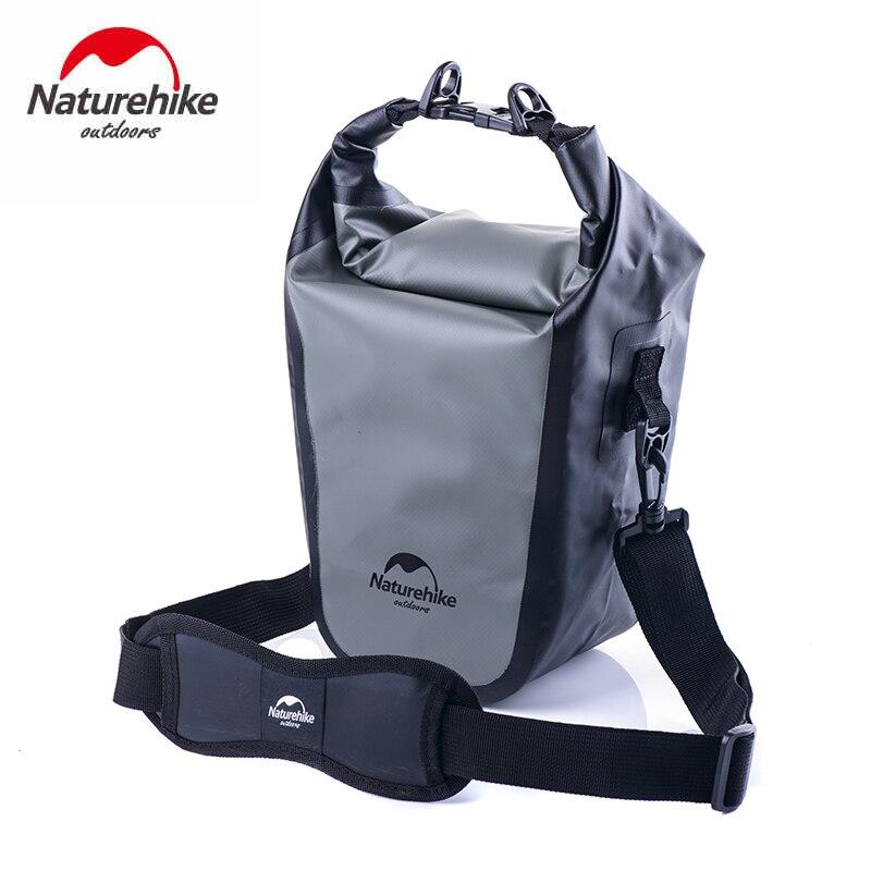 Beg kamera kalis air NatureHike untuk kamera SLR kamera beg 500D PVC 530g hujan-bukti penutup beg renang luar