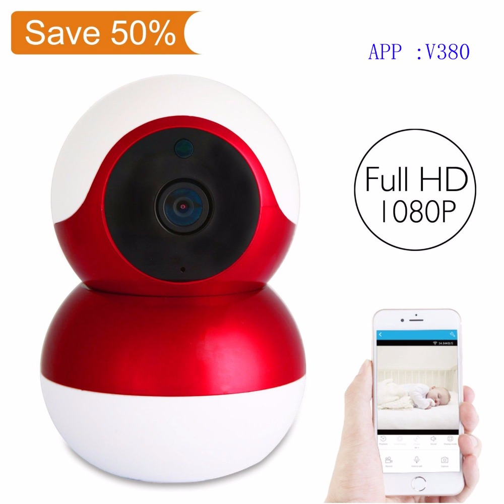 wifi cctv Camera 1080P IP Cam Wireless Home Security IP Camera H.265 Surveillance Camera Night Vision CCTV Camera Baby Monitor hikvision ds 2cd2442fwd iw wifi camera 4mp ir cube wireless ip camera poe ip camera baby monitor wireless security cam