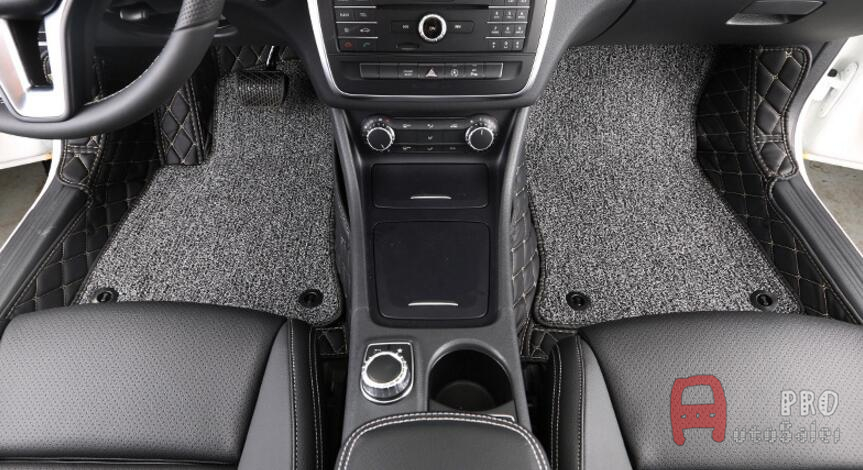 Carpet Floor Mats >> For Mercedes Benz GLA 200 2016 2017 Car Floor Mats Custom ...