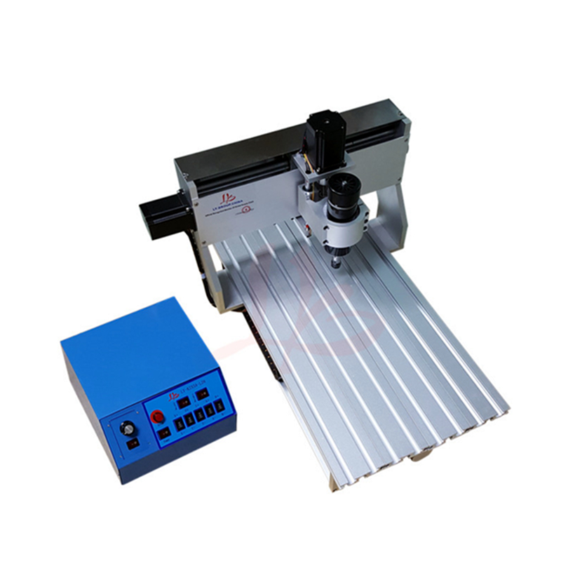 500W Spindle 3axis Cnc Router 3020 PCB Drilling Machine For Wood Glass With Cutter Collet Clamp Vise  Kits