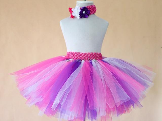2015 новый три слоя ручной туту юбка для девочек-младенцев розничная балетные пачки балета бальное платье детские фото опора юбка с оголовье