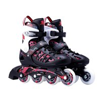 Unisex Adults Skating Shoes Professional Single Row Roller Skates Shoes Adjustable Inline Skating Shoes Roller Skating
