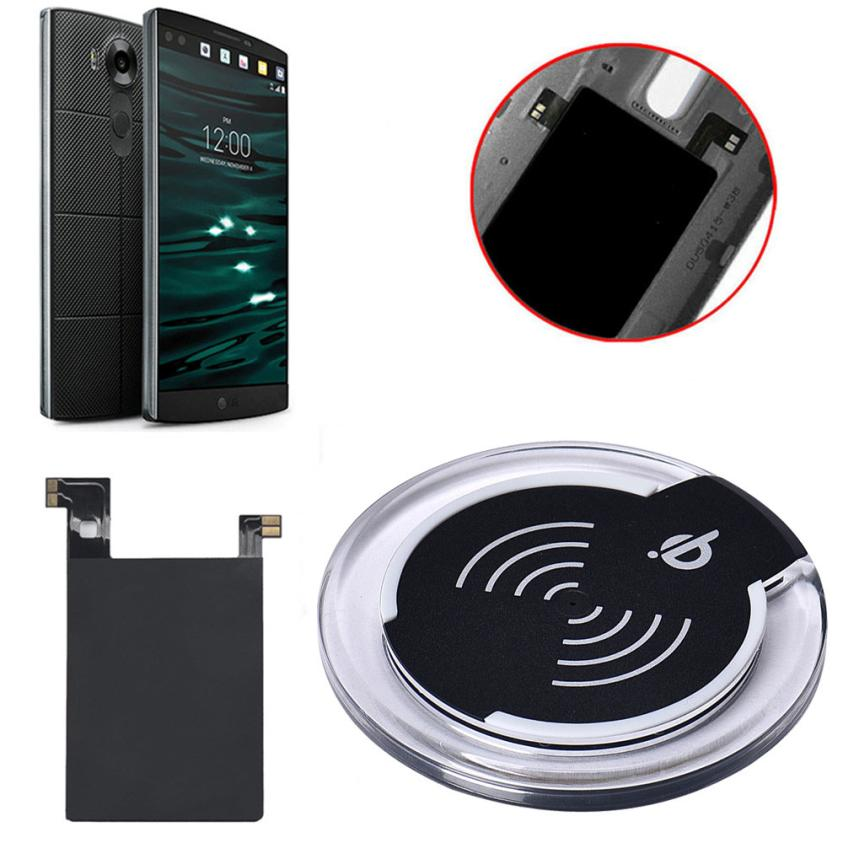 mokingtop 4 colors Qi Wireless Charger Charging Pad