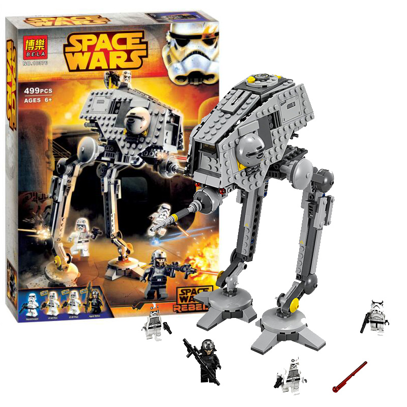 ФОТО 499pcs 2016 bela 10376 new star wars at-dp building blocks toys gift minifigures rebels series compatible with lepin sa502