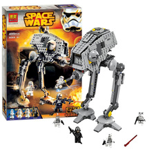 499pcs 2016 Bela 10376 New Star Wars AT-DP Building Blocks Toys Gift Minifigures Rebels series Compatible With Lepin SA502