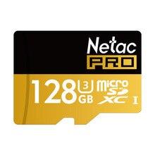 Netac P500 128 ГБ 64 ГБ Pro SDXC U3 Micro SD карты, 32 ГБ 16 ГБ SDHC U1 Class10 карты памяти ультра высокие Скорость UHS-I TF карты
