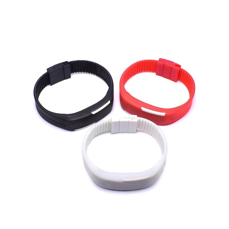 Hot Sell Sports Mens Womens Watches Rubber LED Watch Date Bracelet Digital Wrist Watch Digital Relogio Feminino Masculino Saat