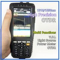 Высокоточный Тестер OTDR оптический рефлектометр домена времени 4 в 1 OPM OLS VFL сенсорный экран 3 м до 60 км Диапазон оптический инструмент