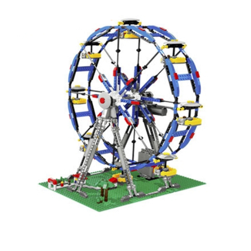 Lepin 15033 Ferris Wheel Truck building bricks blocks Toy Boy Game Model Car Gift Compatible with Bela Decool 4957 lepin 22001 imperial flagship building bricks blocks toys for children boys game model car gift compatible with bela decool10210