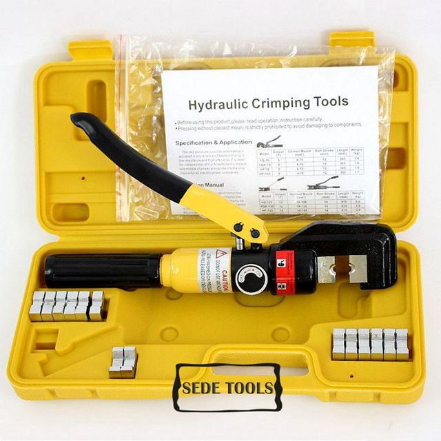buy hydraulic crimping tool hydraulic crimping plier hydraulic compression tool. Black Bedroom Furniture Sets. Home Design Ideas